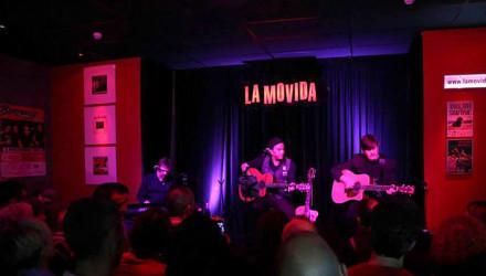 El pasado viernes en LA MOVIDA.cafe concierto de Palma.