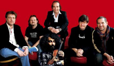 Malikian, su Orquesta en el Tejado y Los Secretos, juntos en Valladolid