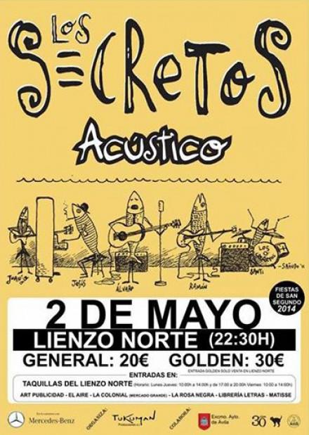 LOS SECRETOS en Murcia y Ávila