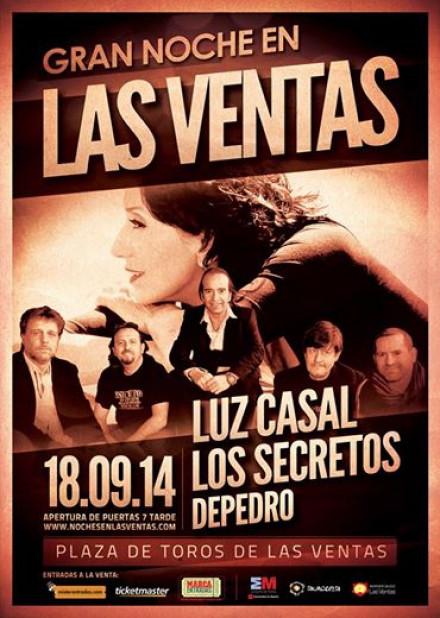Los Secretos & Luz Casal en LAS VENTAS