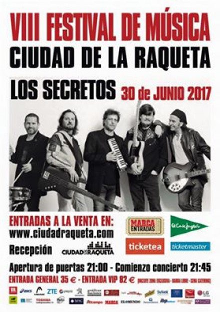 VIII Festival Ciudad de la Raqueta