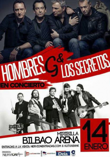 Los Secretos + Hombres G