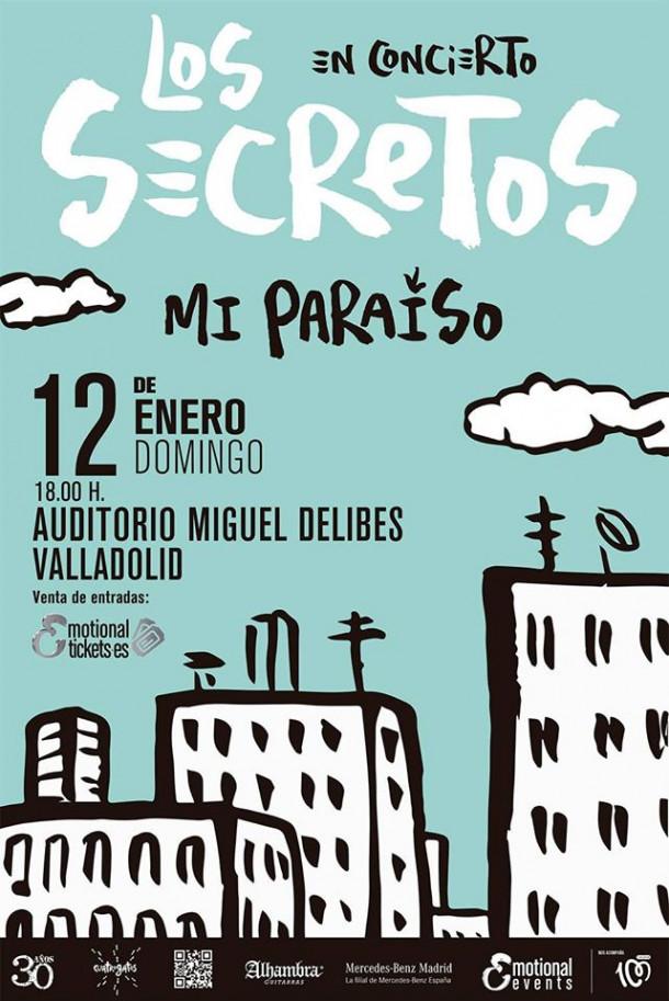 LOS SECRETOS en Valladolid