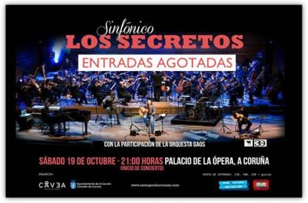 LOS SECRETOS SOLD OUT!!!