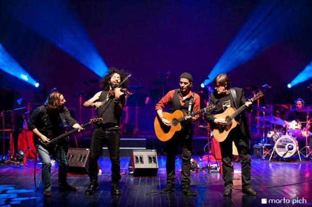 Volvemos a subirnos a un escenario con Ara Malikian & La Orquesta en el Tejado