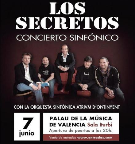 LOS SECRETOS en Valencia!