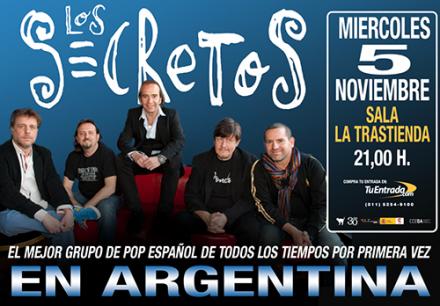 Ya a la venta las entradas para el concierto de Argentina!!