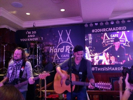 20 aniversario Hard Rock Madrid