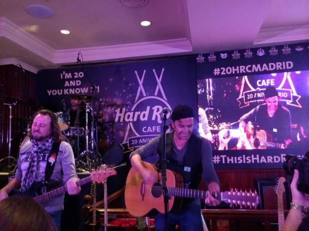 20 aniversario Hard Rock Madrid