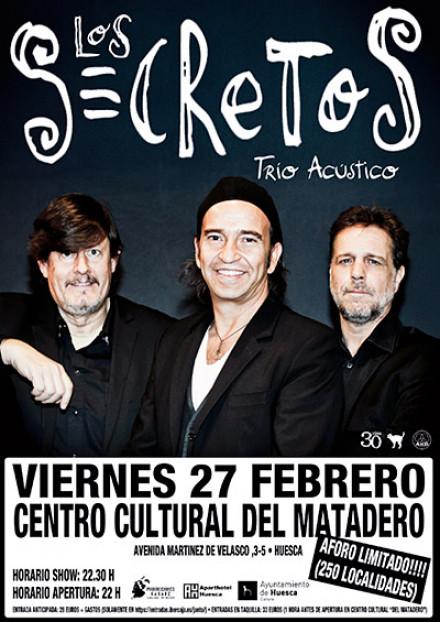 Trio acústico en Huesca