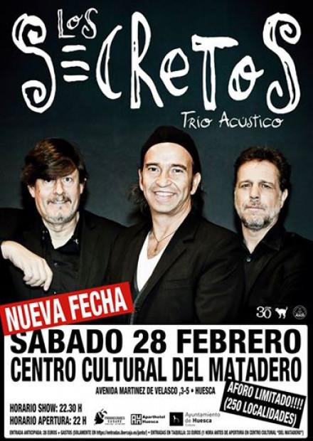 Nueva fecha en trío acústico en Huesca