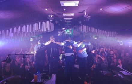 Primer concierto en Zamora en formato acústico.